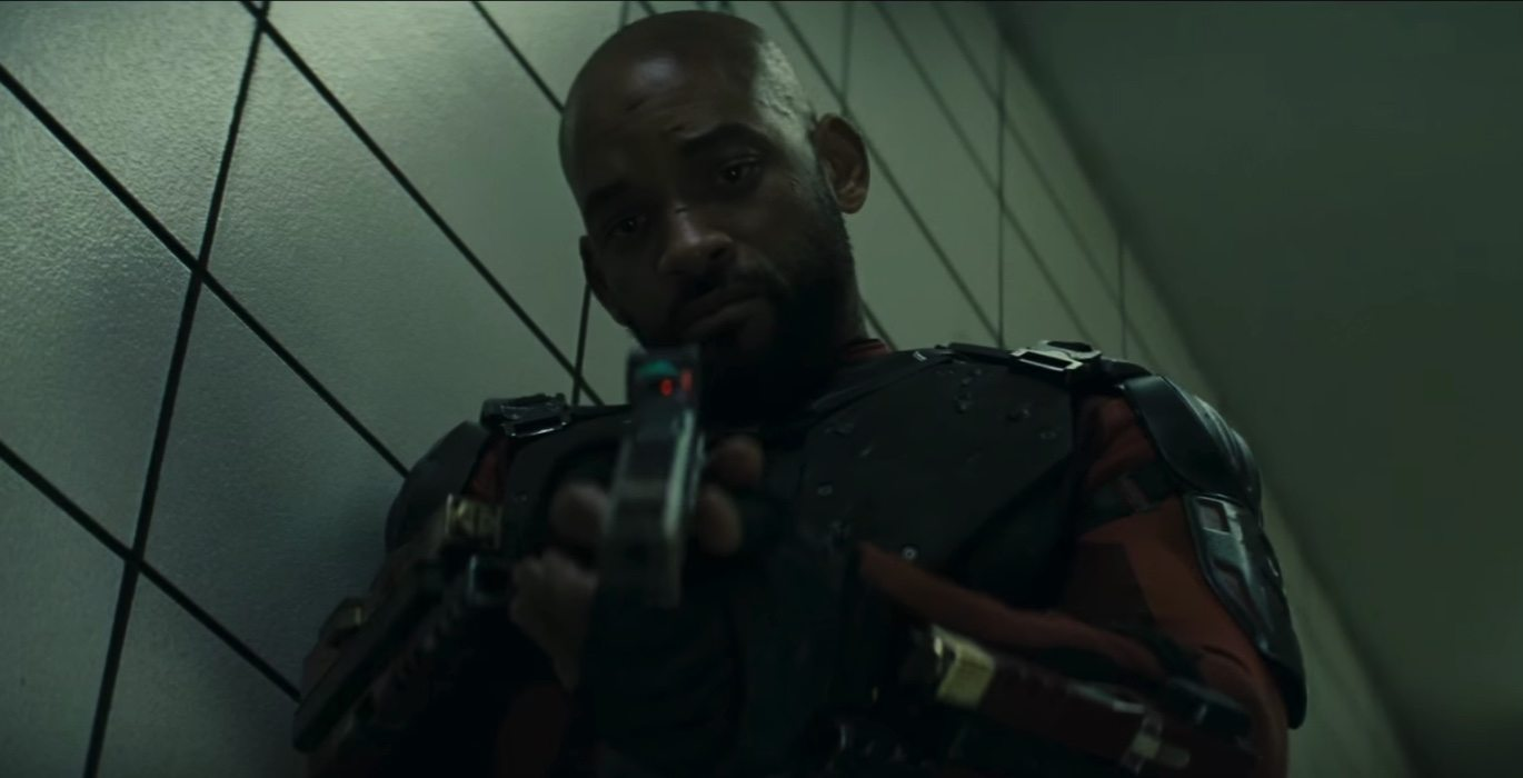 Will Smith heads an all-star cast as the mercenary 'Deadshot'